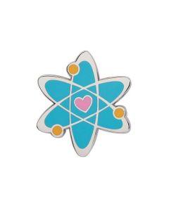 Adventurous Atom Enamel Pin