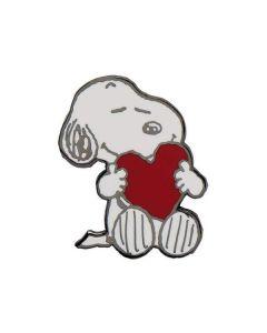 Snoopy's Big Heart Enamel Pin