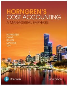 Cost Accounting A Managerial Emphasis + MyLabAccounting withetext
