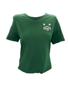 Ladies Forest Green Duck Tee