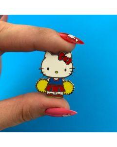 Hello Kitty Cheerleader Enamel Pin