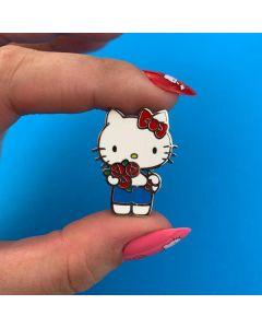 Hello Kitty Bouquet Enamel Pin
