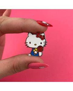 Hello Kitty Lollipop Enamel Pin