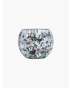 Flannel Flowers Tealight Candle Holder