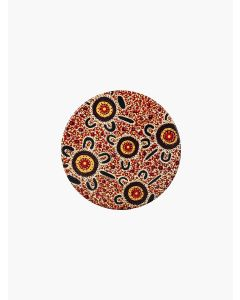 Aboriginal Bush Tucker Ceramic Coaster