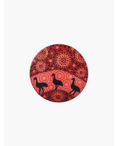 Aboriginal Emu Ceramic Coaster