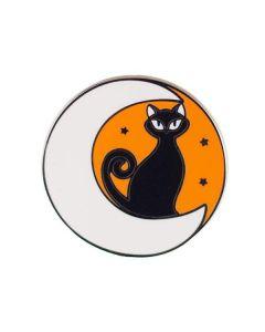 Cara the Halloween Kitty Enamel Pin