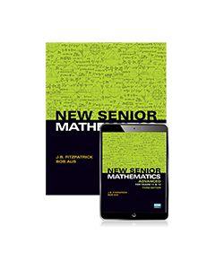 New Senior Mathematics Advanced Years 11 & 12 Student Book with eBook
