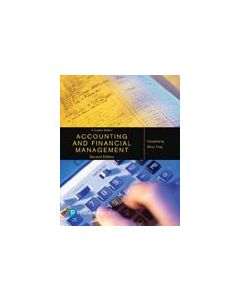 ACCY801 Accounting & Financial Management Custom Publication