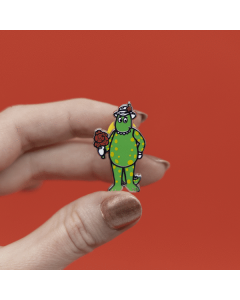 Dorothy the Dinosaur Enamel Pin