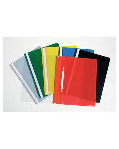 FLAT FILE ASSTD COLOURS PK5 CLEAR FRONT MARBIG 41092