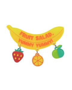 Fruit Salad Brooch