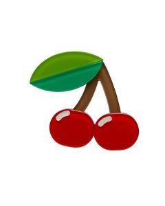Fruit Salad Cherries Brooch