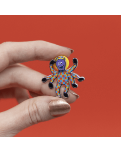 Henry the Octopus Enamel Pin