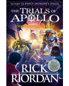 BURNING MAZE : TRIALS OF APOLLO BOOK#3