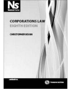 Corporations Law Nutshell Series