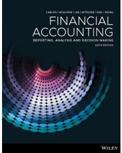 Financial Accounting Reporting Analysis and Decision Making