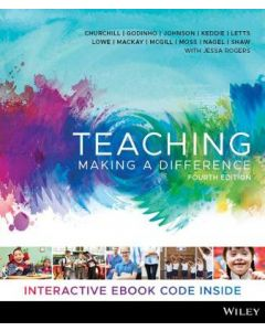 TEACHING MAKING A DIFFERENCE 4TH ED PRINT & INTERACTIVE ETEXT