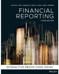 Financial Reporting Colour Custom Publication