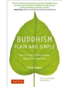 Buddhism Plain and Simple Practice of Being Aware Right Now Every Day