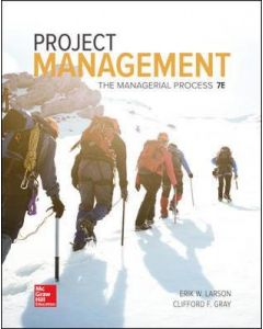 PROJECT MANAGEMENT : THE MANAGERIAL PROCESS