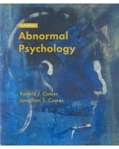 ABNORMAL PSYCHOLOGY 10ED