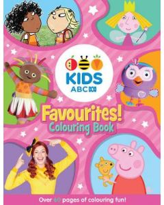 ABC KIDS FAVOURITE COLOURING BOOK : PINK