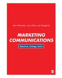 Marketing Communications Objectives Strategies & Tactics