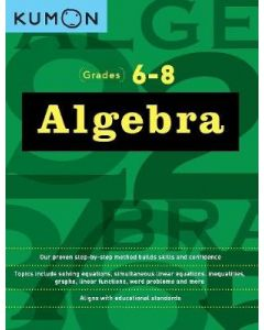 KUMON ALGEBRA WORKBOOK I & II