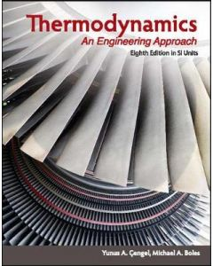 Thermodynamics An Engineering Approach SI Units
