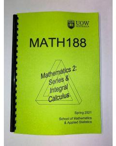 MATH188 Course Notes