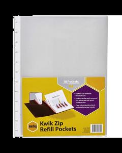 REFILLS DISPLAY BOOK KWIK ZIP A4 206000