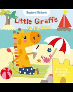 Little Giraffe At The Beach