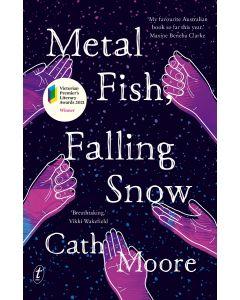 Metal Fish Falling Snow