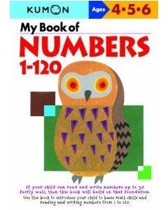 MY BK OF NUMBERS 1 - 120