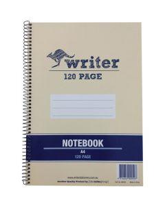 LEC PAD WRITER 240p A4 SPIRAL WB595A