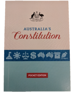 Australias Constitution Pocket Edition 2017/2018