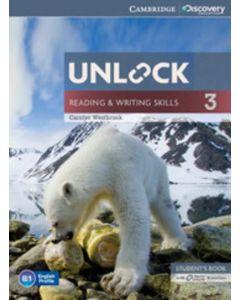 Unlock Level 3 Reading & Writing Skills Student Book & Online Workbook