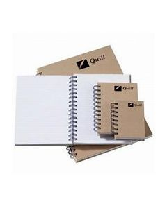 NOTEBOOK A4 NATURAL HARDCOVER 160p 10394