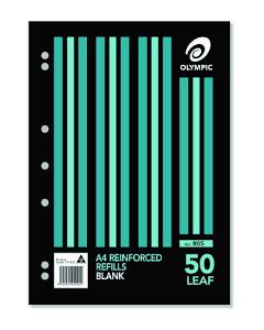REFILLS 50's A4 REINFORCED GNS 33565