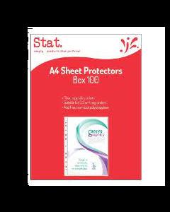 SHEET PROTECTORS BOX 100 A4 SOVEREIGN 43050