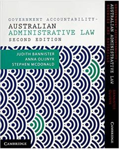 Government Accountability+ Australian Administrative Law Value Pack