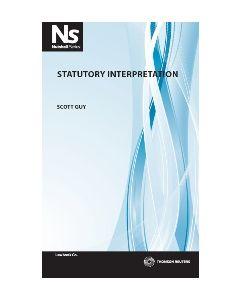 Nutshell Statutory Interpretation