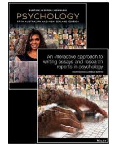 PSYCHOLOGY 5TH ED WITH ISTUDY & INT APPROACH TO WRITING ESSAYS 4ED
