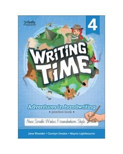 WRITING TIME #4 STUDENT PRACTICE BOOK