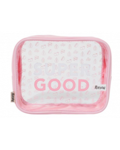 Super Good Cosmetic Bag - Pink