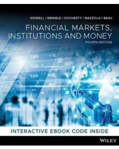 Financial Markets Institutions and Money