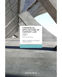 Commercial Applications of Company Law 2021